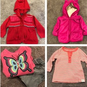 Baby Girl Winter Bundle Warm 3-6 Months